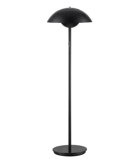 modern dimmable led floor lamp    black