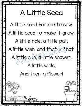 row row row your boat lyrics polar bear a little seed printable flower poem for kids