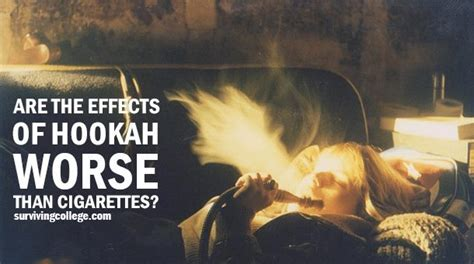 is hookah better than cigarettes for you are the effects of hookah worse than cigarettes cus riot