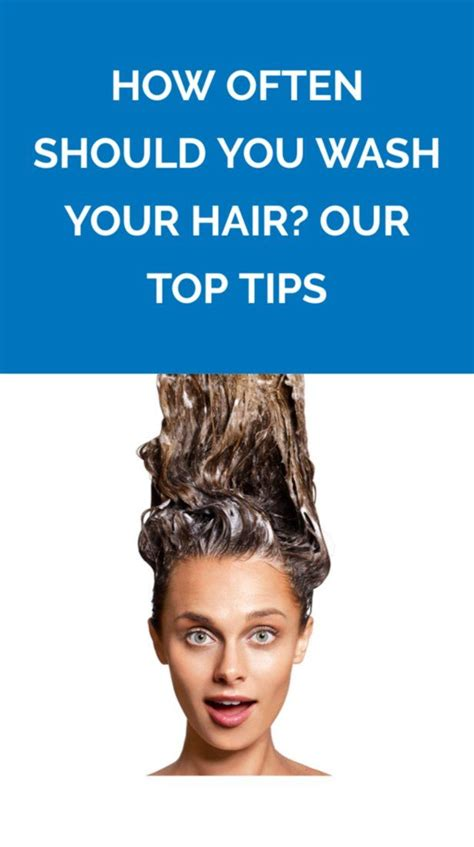 how often should you wash your hair slide 1 604 best hair styles images on pinterest