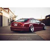Crimson Red VIP Lexus GS400 Bagged On MRR Wheels  Cars