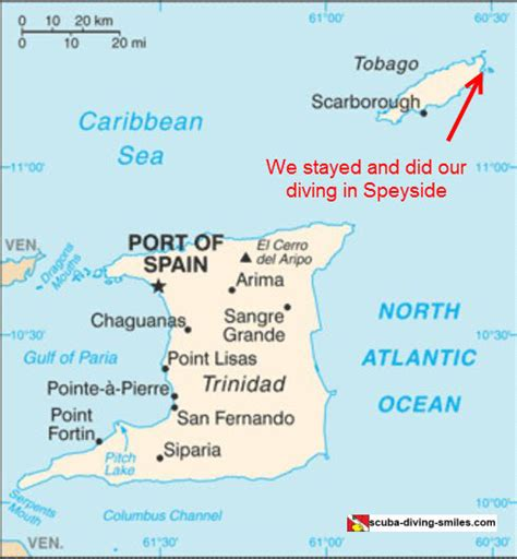 and tobago map map of and tobago where are these islands located