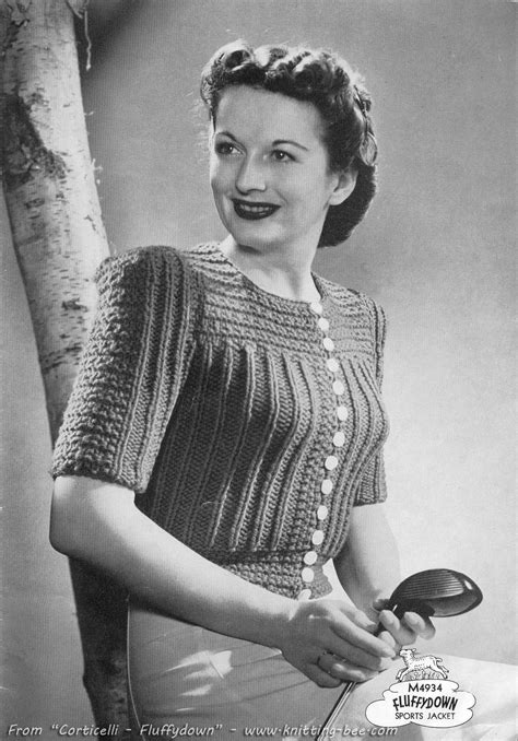 free vintage knitting patterns a look the vintage knitting patterns crochet and knit