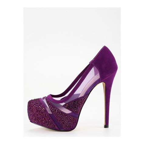 Color Panel High Heel Pumps 17 best ideas about purple high heels on