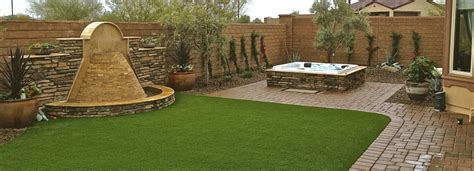 custom landscaping services az arizona rainfall