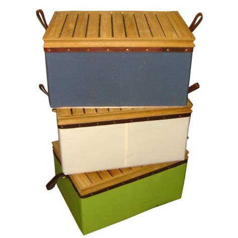 cooler bench canvas coolers with teak seat tops at 1stdibs