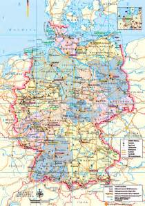 A Map Of Germany by Germany Maps Printable Maps Of Germany For Download