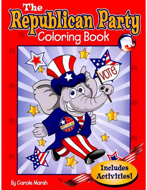 we republicans books the republican coloring book