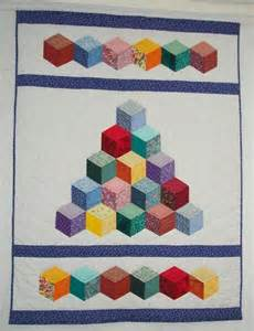 baby tumbling blocks pdf version by key west quilts