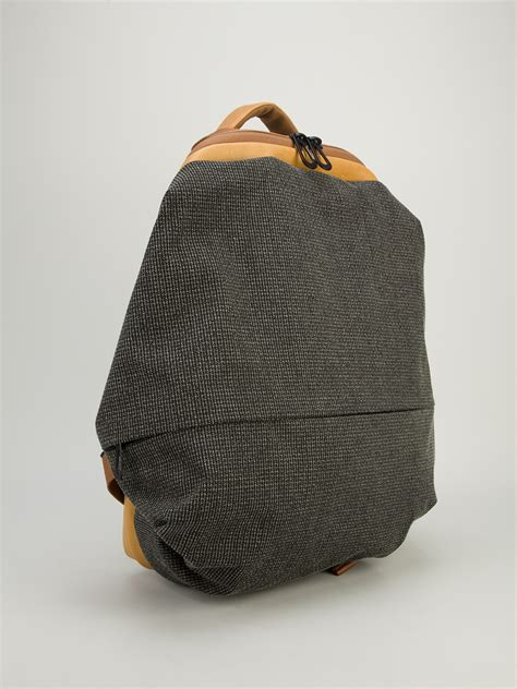 Ciel Shoulder Bags Grey lyst c 244 te ciel meuse backpack in gray for