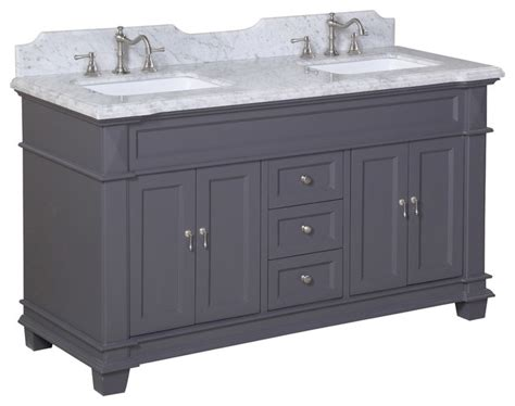 charcoal grey bathroom vanity elizabeth bath vanity carrara charcoal gray double
