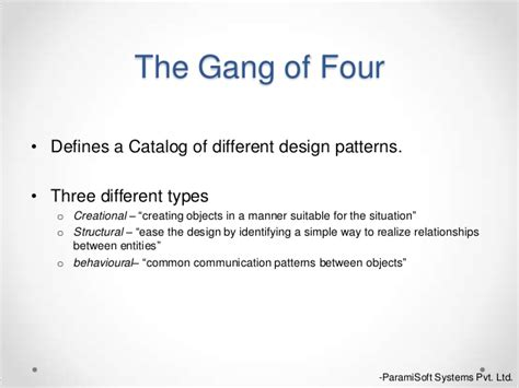iterator pattern gang of four design pattern abstract factory singleton
