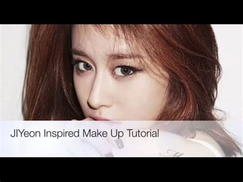 tutorial makeup jiyeon jiyeon never ever inspired make up tutorial youtube