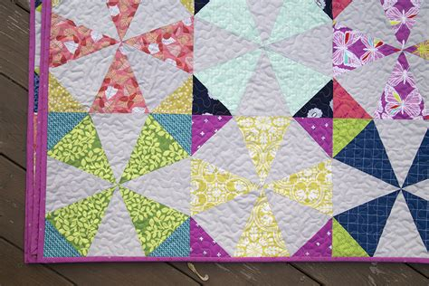 Fresh Lemons Quilt by Scrappy Kaleidoscope A Finished Quilt Fresh Lemons