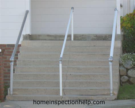 stair banister guard stair handrail no guard rail
