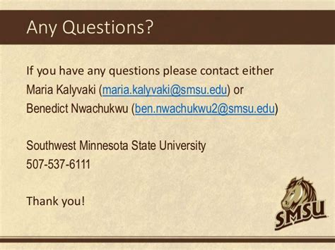 Southwest Minnesota State Mba by Brightspace D2l For Employees