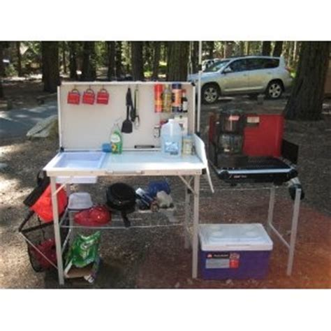 Coleman Pack Away Deluxe Kitchen by 1000 Images About Cing Kitchens Chuck Boxes On