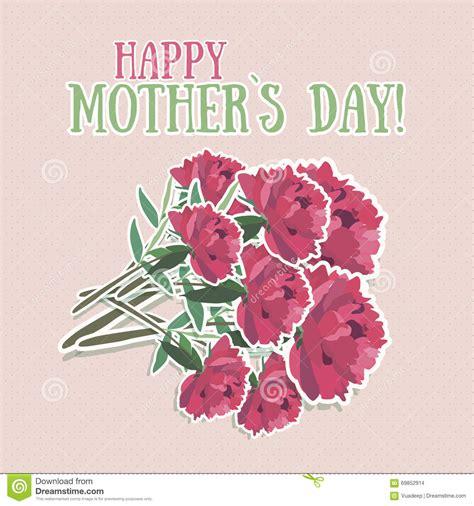 di giorno fiore fiore di giorno di madri illustrazione vettoriale