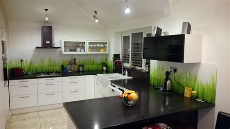 Kitchen Design Cheshire by Printed Glass Splashbacks For Kitchens Colour 2 Glass