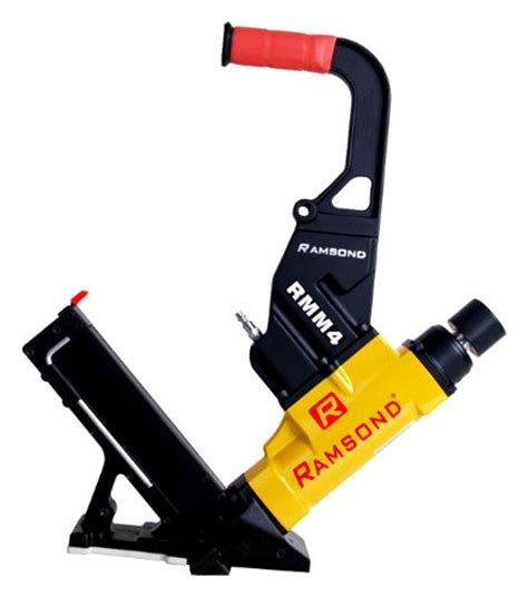 Hardwood Floor Nail Gun Ramsond Rmm4 2 In 1 Air Hardwood Flooring Cleat Nailer And Stapler Gun Solid Wood Floor