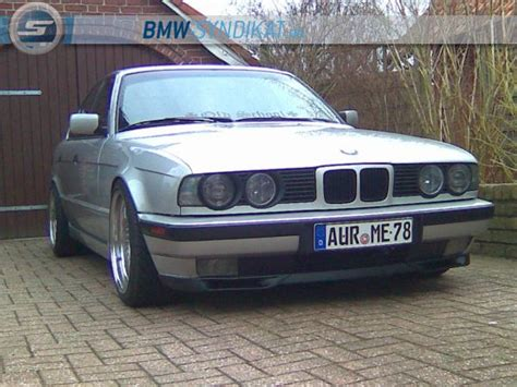 E34 Tieferlegen by Quot School Quot E34 525i 5er Bmw E34 Quot Limousine