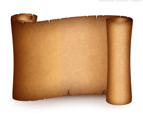How To Make Paper Scrolls - paper scroll design clipart best