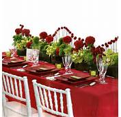 Our Selection Of Red Weddings Decors  On The French Riviera