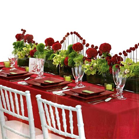 table decorations best wedding planing red wedding reception decoration
