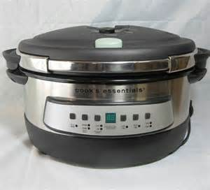 cooks essential cooker cook s essentials cepc660 6qt programmable pressure