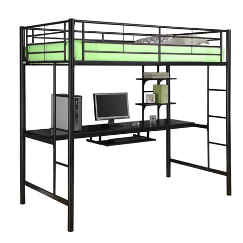 black metal loft bed with desk 25 awesome bunk beds with desks for