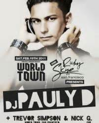 san francisco house music clubs san francisco night club ruby skye to host dj pauly d of jersey shore fame