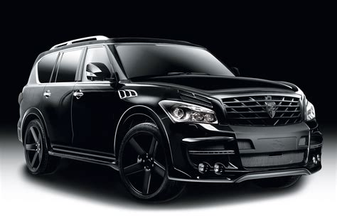 infiniti car qx80 larte design introduces complete styling package for