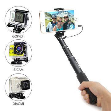 Deal Selfie Light Ring Jepit Lu Ring Selfi Lu Selfi Live Blitzwolf 174 Bw Ws1 Mini Extendable Wired Selfie Stick