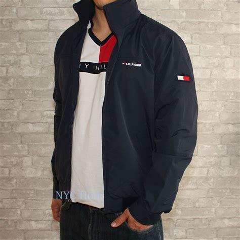 Vs Bz Blazer Navy Lis Abu new hilfiger mens yacht jacket navy windbreaker all sizes water resistant ebay