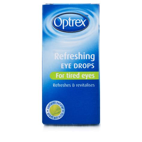 eye drops optrex refreshing eye drops 10ml eye care chemist direct