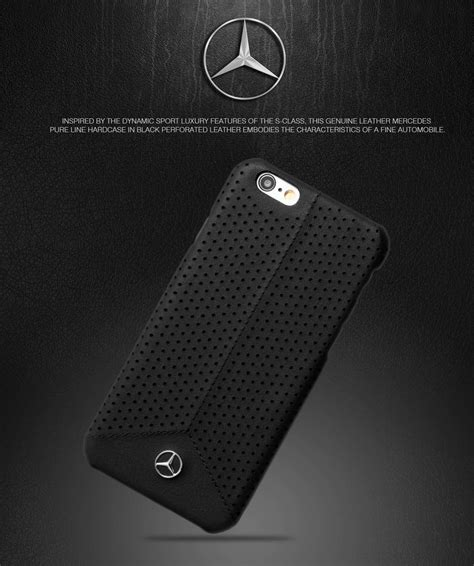 mercedes iphone mercedes 174 apple iphone 6 6s line perforated