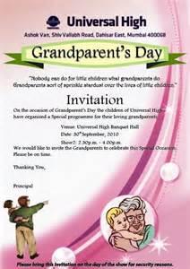 universal high dahisar grandparent s day celebration on 30th september 2010