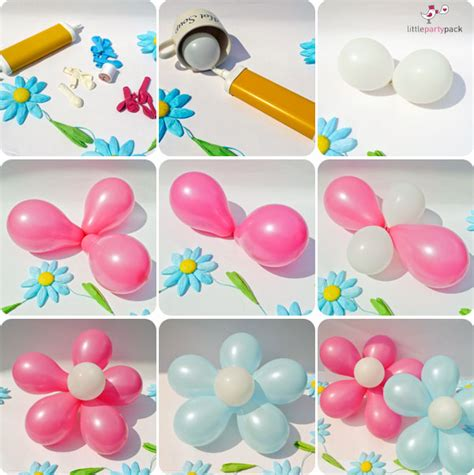 How To Make Balloon Decorations by Make Beautiful Diy Balloon Flower Decoration Beesdiy