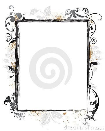 grunge flower frame royalty free stock image image 3187236 swirly grunge floral frame border royalty free stock photo image 6086325