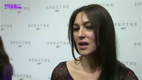 monica bellucci james bond interview spectre 007 quot cast crew interview with monica bellucci