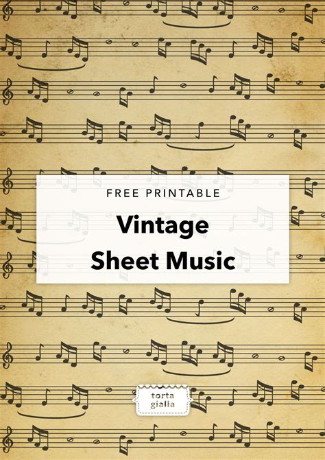 Printable Songs