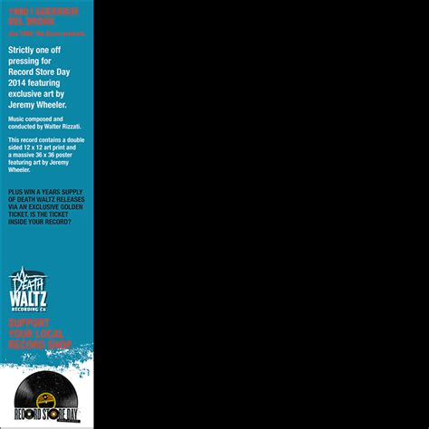 Waltz Records 1990 I Guerrieri Bronx Soundtrack Details Soundtrackcollector