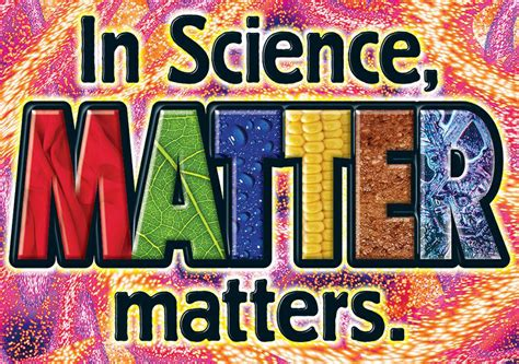 In Science Matter Matters Argus Large Poster T A67374
