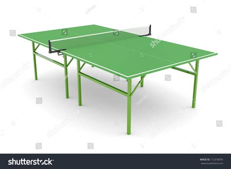 pingpong isolated on white background stock