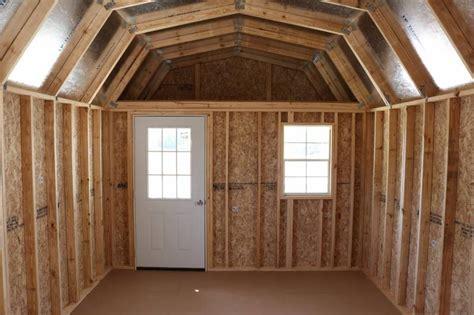 hh portable buildings  lofted barn cabin
