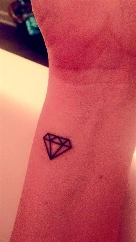 temporary tattoo 3 small diamonds alpha delta pi by