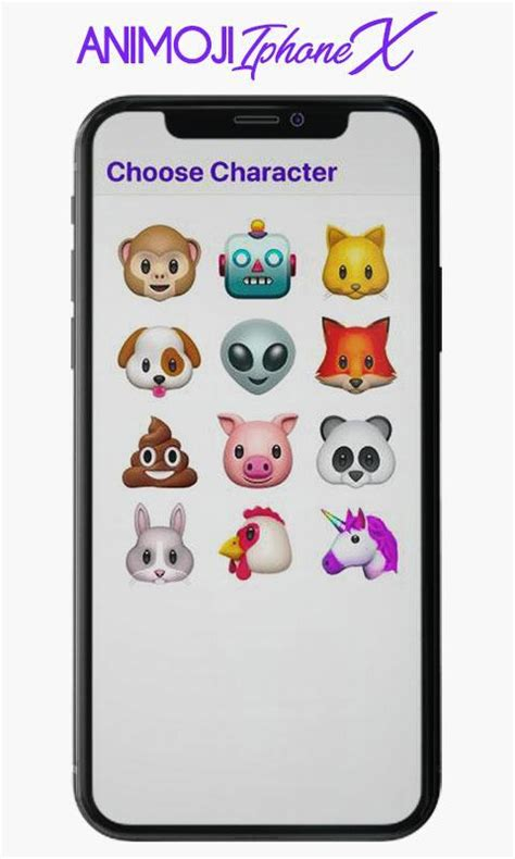 iphone x animoji live emoji 2018 for android apk