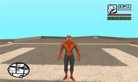 gta san andreas spiderman mod game free download for pc ultimate spiderman ped file mod db