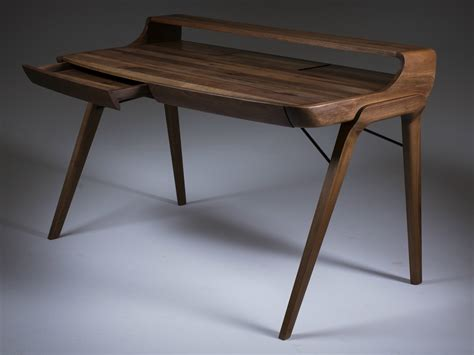 wood writing desk with drawers picard writing desk by artisan design rudjer novak mikulic