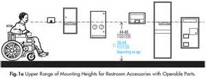 Lavatory Faucets Accessories In Public Restrooms Ada Guidelines Harbor
